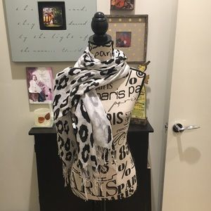 Ann Taylor Spotted Scarf